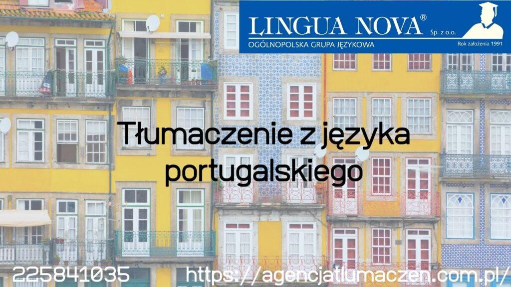 Tłumaczenia z języka portugalskiego