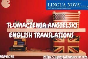 Tłumaczenie angielski