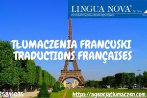 Tłumaczenie francuski