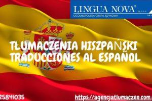 Tłumaczenie hiszpański