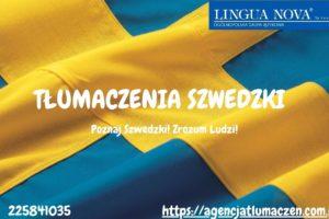 Tłumaczenie szwedzki