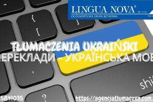 tłumaczenie ukraiński