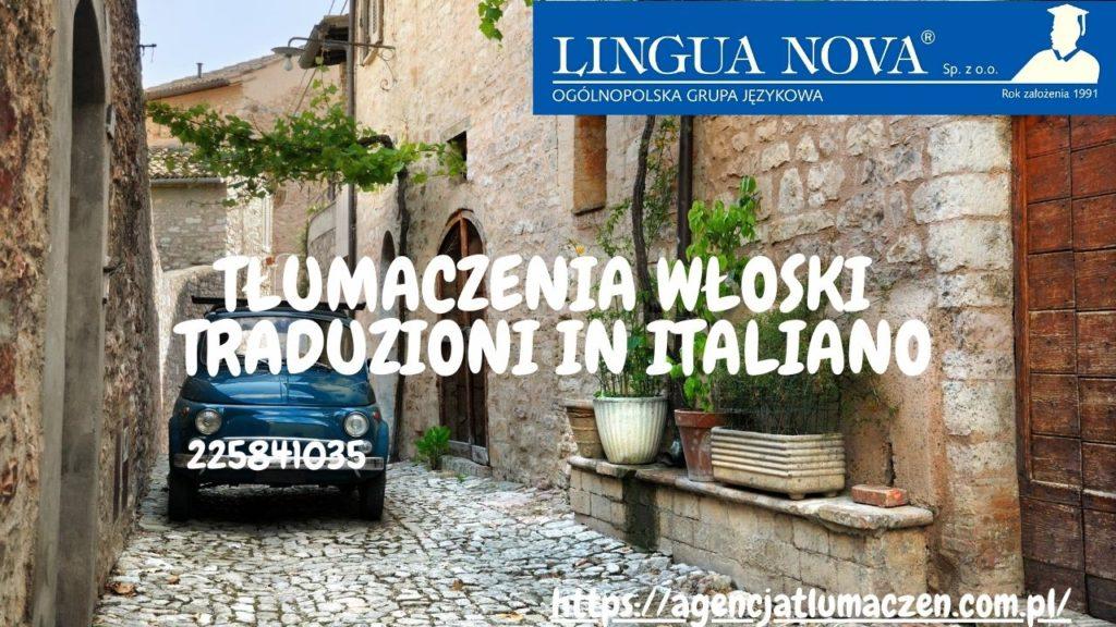 Tłumaczenie włoski