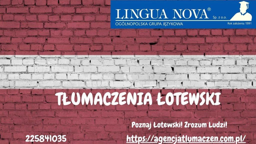 Tłumaczenia Łotewski