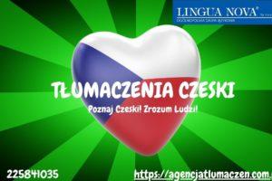 Tłumaczenia czeski