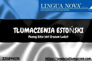Tłumaczenie estoński
