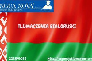 Tłumaczenie białoruski