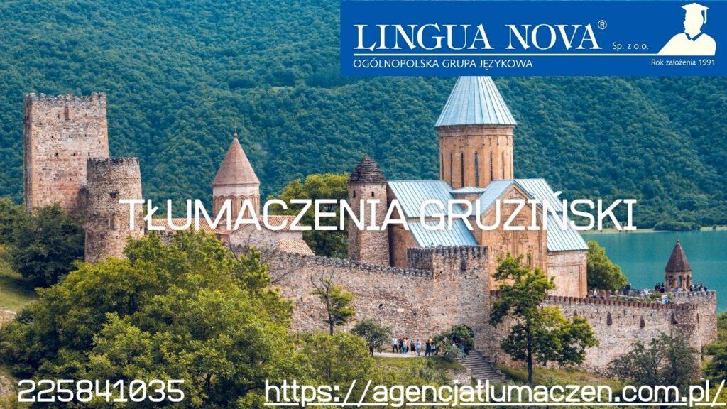 Tłumaczenia gruziński
